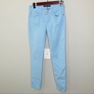 Angry Rabbit Ice Blue Skinny Jeans Size 27